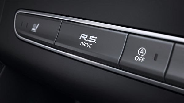 Renault MEGANE RS multi-sense and R.S. drive button