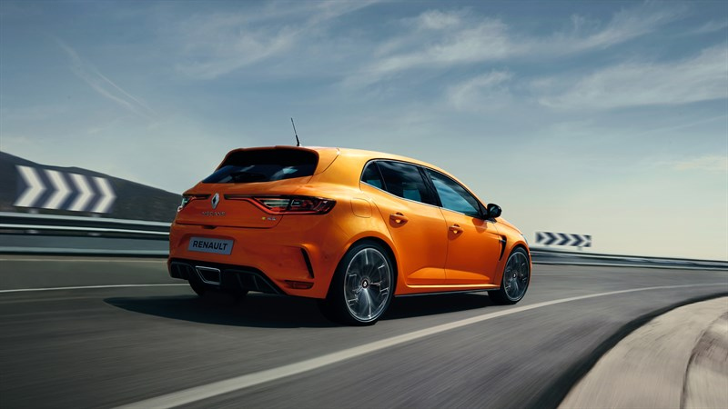 Renault MEGANE R.S. exterior design side view