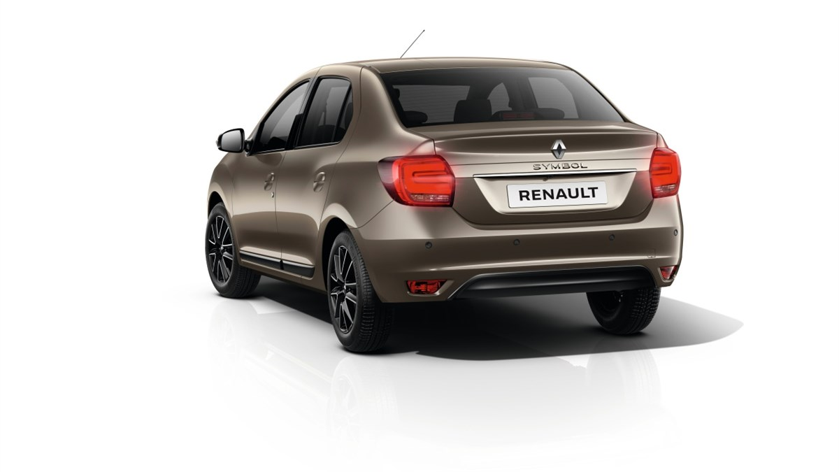 Renault SYMBOL exterior design back view