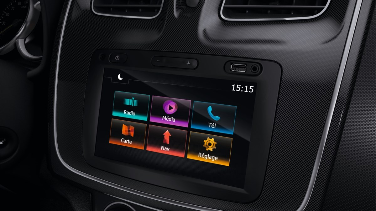 Renault SYMBOL multimedia system features