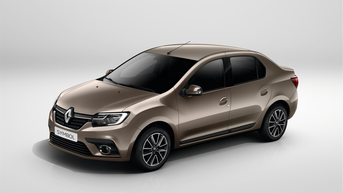 Renault SYMBOL exterior design side view