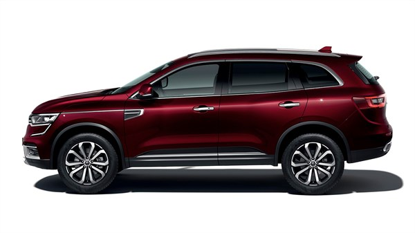 Renault KOLEOS exterior design 3D side view