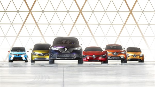 Renault - our range of concept cars